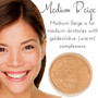 Full Coverage Matte Loose Mineral Foundation - Medium Beige