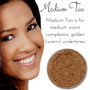 Full Coverage Matte Loose Mineral Foundation - Medium Tan