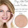 Full Coverage Matte Loose Mineral Foundation - Bisque Multi Task Concealer