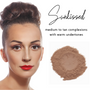 Sheer Coverage Luminous Loose Mineral Foundation - Sunkissed