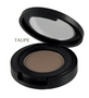 Natural Organic Pressed Eyebrow Brow Powder | Taupe