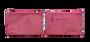 "Pink ""The Paisley"" Medium Clutch Makeup Accessory Bag"