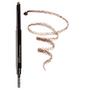 Retractable Eyebrow Pencil with Spoolie - Deep Brown