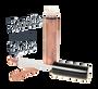 Liquid Serum Lipgloss Sheer Tint - Sparkle Rose Gold