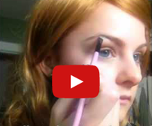 How To Fill In Eyebrows Video Tutorial