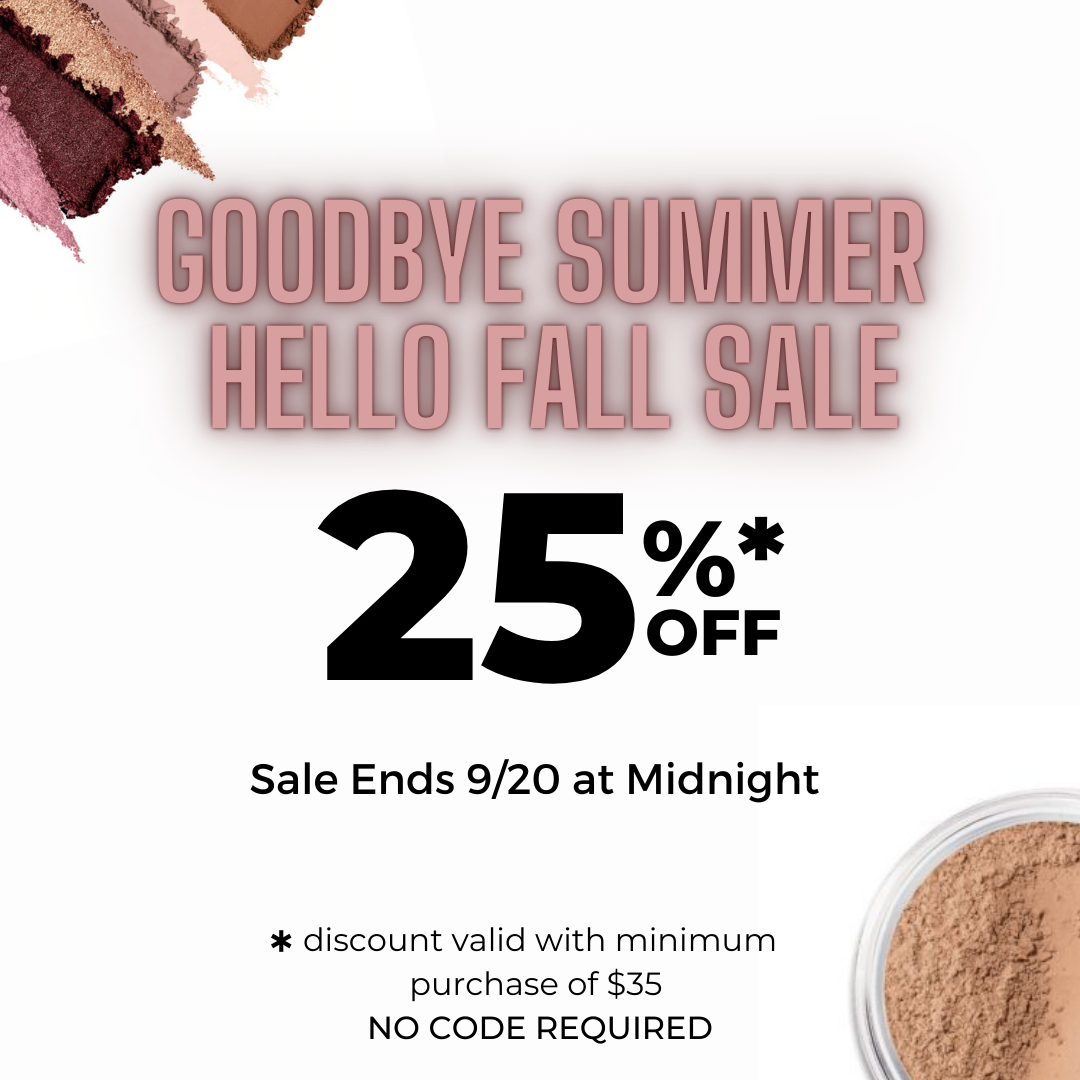 Goodbye Summer, Hello Fall Sale