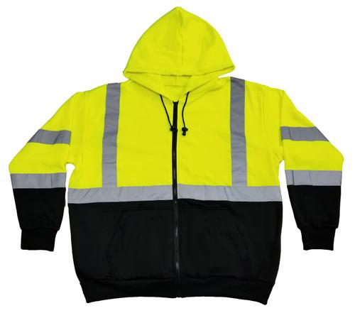 Lightweight Fleece Zip-Up Hooded Sweatshirt - Class 3
