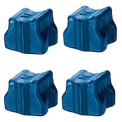 Cyan Solid Ink for Xerox 8500/8550 - (4 Sticks)