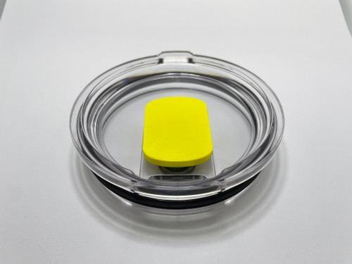 Lid for 30oz Yeti Cup and Mug - Choose a Colorful Magnetic Slider Slim to be included.