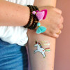 The cute colorful metallic 'Magical Unicorn' temporary tattoos. Perfect for party favors for  or a fun activity at events.@FlashTattoos #FLASHTATS