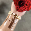 Spread the love at your event with the 'Big Love' metallic rosegold temporary Flash Tattoo!@FlashTattoo #FLASHTAT