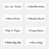 Have a fun and unique custom hashtag for your birthday party or celebration? Turn it into a personalized metallic temporary tattoo in just a few quick steps. with the 'Hashtag Fancy' design.@FlashTattoos #FLASHTAT
