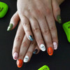Add monsters to your manicure with Halloween Nail Art Flash Tattoos! @FlashTattoos #FlashTat