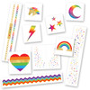 The 'Super Rainbow  Variety Set' features 50 tattoos colorful tats to mix and match for the ultimate party bling!   @FlashTattoos #FLASHTAT