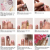 Easy and quick sparkle and shine for your nails - Flash Tattoos Nail Art application instructions. #FLASHTAT @FlashTattoos