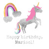 Party in personalized unicorn temporary tattoos featuring custom text and premium metallic foil! @FlashTattoos #FlashTat