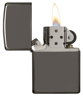 Personalized Zippo Black Ice Lighter - Free Engraving
