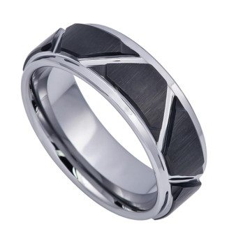Personalized Tungsten Ring