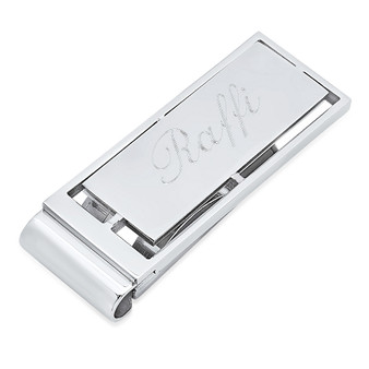 Personalized Stainless Steel Quality Luxury Money Clip