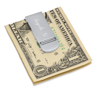 Stainless Steel Quality Luxury Money Clip - Free Engraving