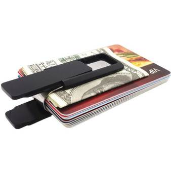 Stainless Steel Quality Black Money Clip - Free Engraving