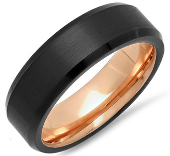 Personalized Tungsten Rings for Men and Tungsten Rings for