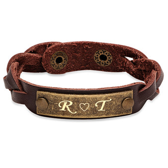 All Products - Bracelets - Leather Bracelets - Page 1 - ForeverGifts.com 5d97fe208978c