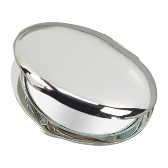 Personalized Elegant Oval Compact Mirror
