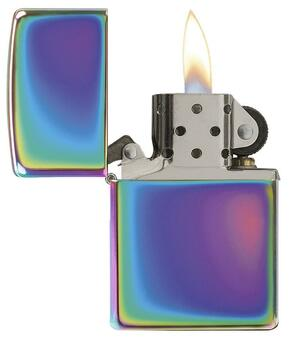 Personalized Classic Rainbow Multi Color Genuine Zippo Lighter