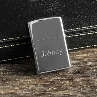 Personalized Ace of Spade Genuine Zippo Lighter