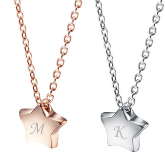 Personalized Stainless Steel Little Star Charm Pendant