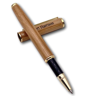 Personalized Quality Bamboo Wood Ballpoint Pen