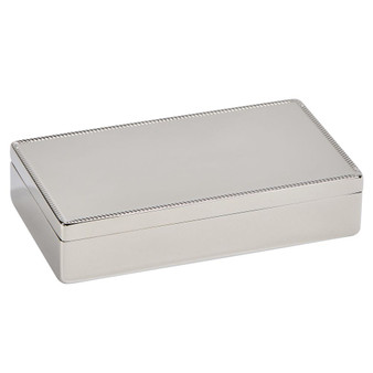 Personalized Quality Braided Edges Jewelry Box