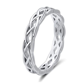 Quality Sterling Silver Hollow Ring
