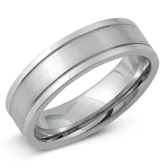 Personalized Stainless Steel 5.5mm Band Ring