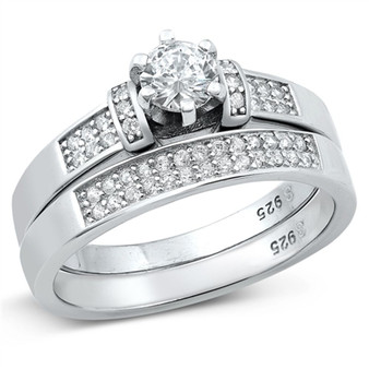 Wedding Ring Set Personalized