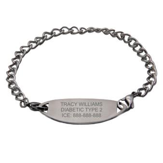 Custom Medical ID Bracelet