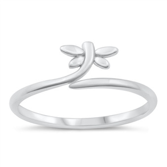 925 Sterling Silver Ring - Dragonfly