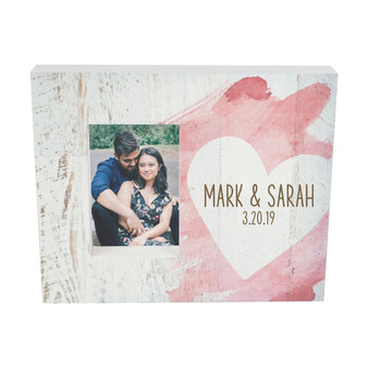 Personalized photo frame