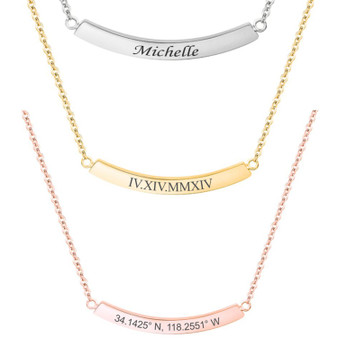 Engraved Jewelry
