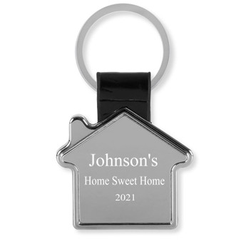 Personalized Home Keychain