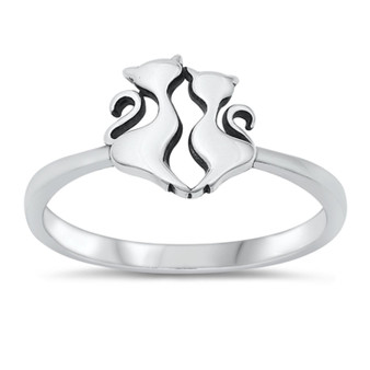 Personalized Cats Ring