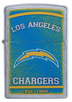 Engraved Chargers Zippo Lighter