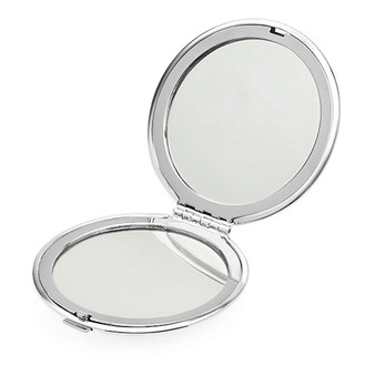 Personalized Elegant Slightly Domed Compact Mirror