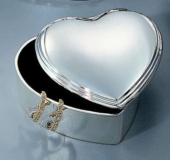 Personalized Heart Shaped Jewelry Box