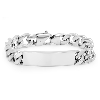 Personalized Quality Stainless Steel ID Bracelet