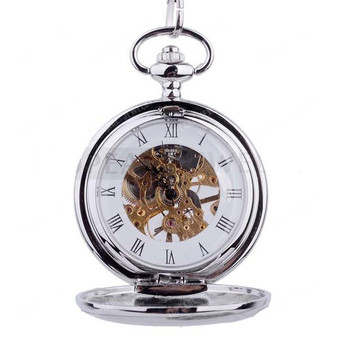 Double Hunter Quality Mechanical Pocket Watch