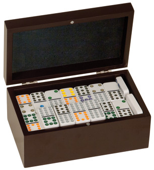 Personalized Double 12 Domino Gift Set