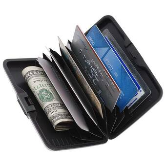 Personalized Aluma Wallet Credit Card Holder