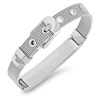 Personalized Ladies Quality Mesh Medical ID Bracelet